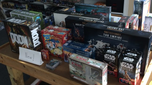 new doom board game and x wing ships